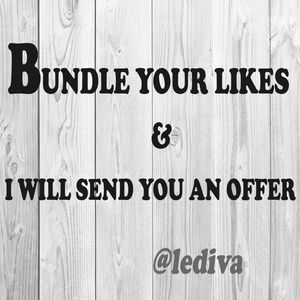 Other - Bundle Your Items & I Will Send You An Offer